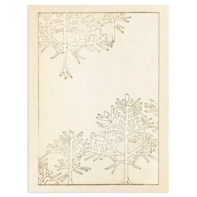 Winter Trees – Japanese Woodblock Print Poster