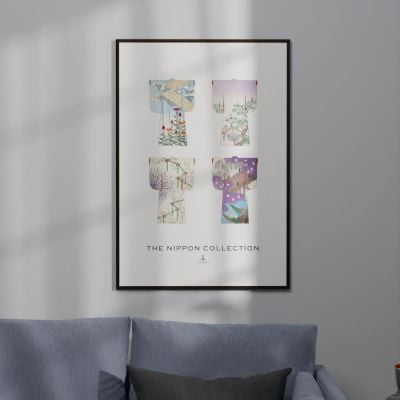 The Nippon Collection One – Vintage Japanese Kimono Designs Poster