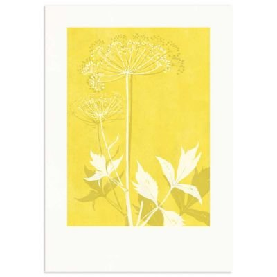 Angelica Warm Yellow Monocolor Poster