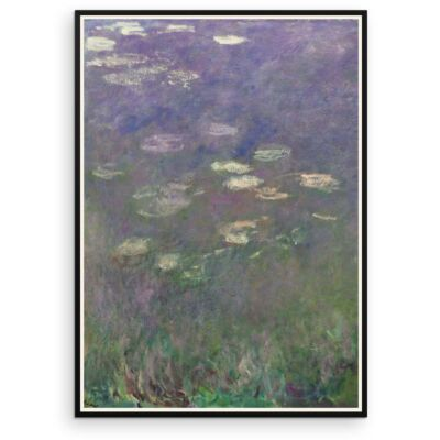 Water Lilies by Claude Monet 1915-1925 – Part 1