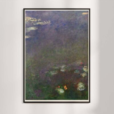 Water Lilies by Claude Monet 1915-1925 – Part 3