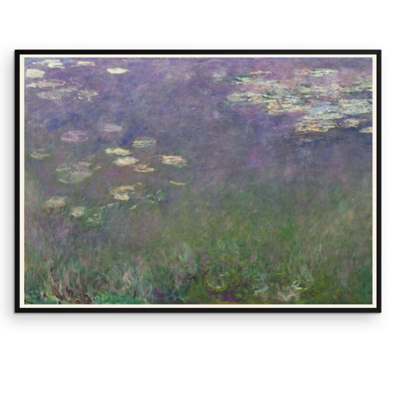 Water Lilies Poster by Claude Monet - 1 - Aruhana