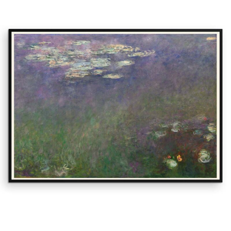 Water Lilies Poster by Claude Monet - 2 - Aruhana