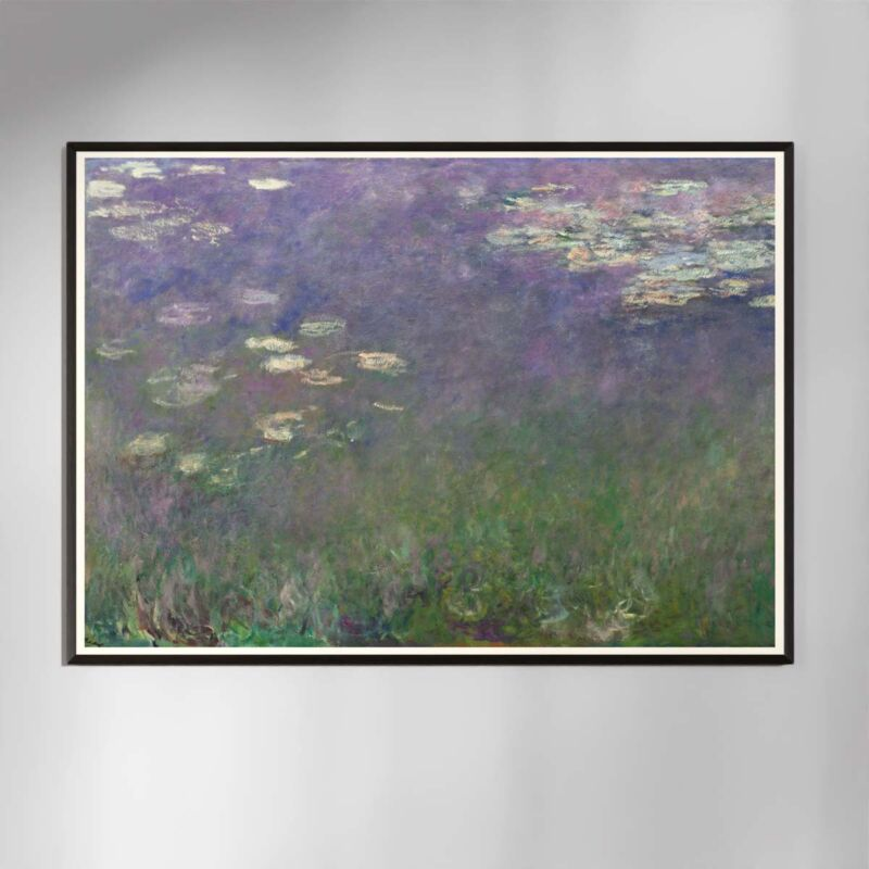 Water Lilies Poster by Claude Monet - 1