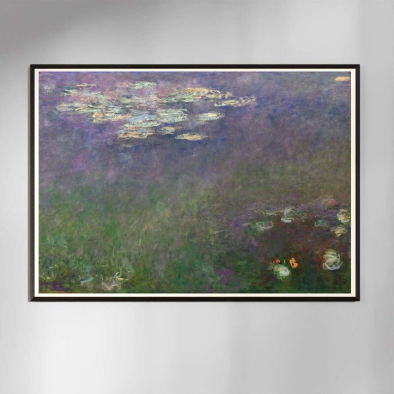 Water Lilies Poster by Claude Monet - 2
