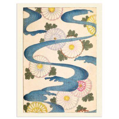 Japanese poster – Chrysanthemum River