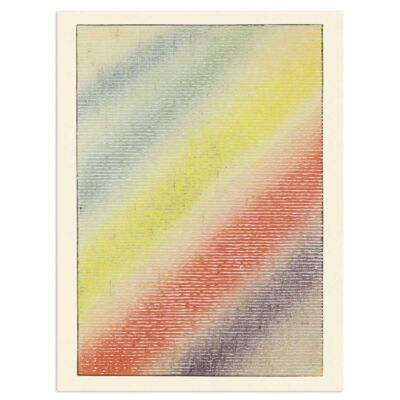 Japanese Poster – A piece of the rainbow