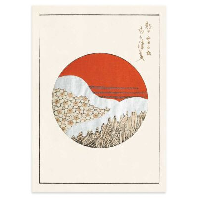 Japanese poster – Spring and wheat