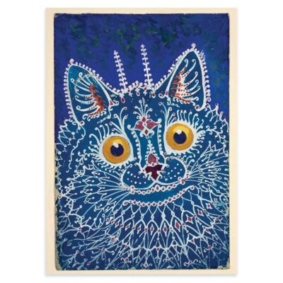 Louis Wain poster – Cat in Gothic style